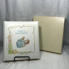 cr gibson photo albums vintage beatrix potter baby photo album in ob gibson 1990 ebay