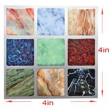 aliexpress com buy 3d art mosaic wall tile self adhesive