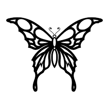 could use this stencil outline with chocolate fill in w colored