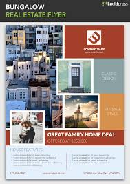 Best Real Estate Flyer Templates 17 flyer layout design ideas for your inspiration