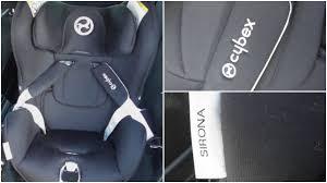 siege auto cybex sirona avis cybex sirona car seat review