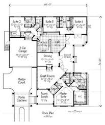 house plans with separate apartment house plans with in suites and a in