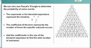lesson 9 6 intro to probability with pascal u0027s triangle youtube