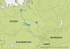 map of europe and russia rivers russia rivers map