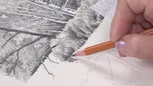 landscape drawing basics dvd with claudia nice youtube