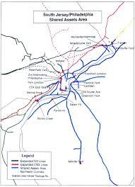 Septa Train Map Conrail South Jersey Shared Assets Track U0026 Yard Maps Railfandepot