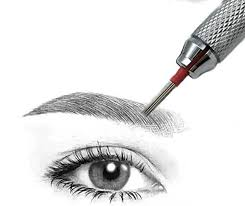 hair stroked round needles for microblading pen eyebrow manual