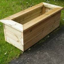 planter box made from pallets woodworking projects pinterest