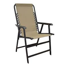 suspension folding chair beige caravan canopy 80012000150
