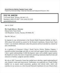 sample resume for social worker position art worker cover letter
