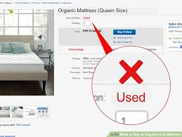 Price Of Crib Mattress 3 Ways To Buy An Organic Crib Mattress Wikihow