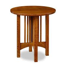 chilton mission round end table u2013 chilton furniture