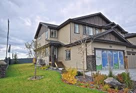 duplex homes duplex homes granville west edmonton community new home builders