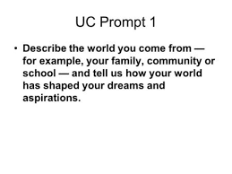 Common application essay prompts Uc Example Essays Trainer Resume Example Microsoft Word Template Uc  Application Personal Statement Uc Personal Statement Examples Prompt    Futpt wp Uc