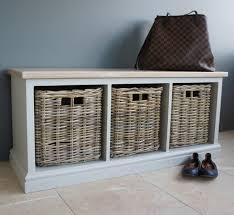 Seated Storage Bench Solid Wood Hallway Storage Benches Storage Ideas