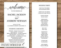 ceremony order for wedding programs rustic wedding program wedding ceremony order of events