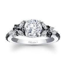 black diamond band barkev s black diamond engagement ring 7932lbk barkev s