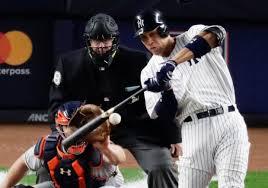 Aaron Judge Joins An Exclusive Club Of Yankees All Stars Pinstripe - aaron judge cc sabathia help yankees beat astros trail alcs 2 1