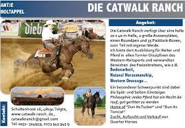 Plz Bad Salzuflen Antje Holtappel Die Catwalk Ranch Plz 48291 U2022 Westernhorse Com