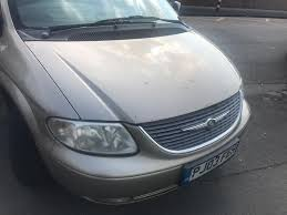 2003 03reg chrysler voyager 2 5 petrol manual 7 seater in