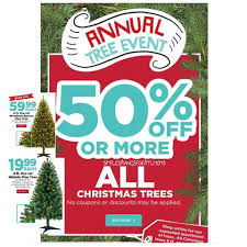 50 off christmas trees annual tree event at michael u0027s