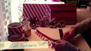 how to make a duct tape wreath ornament youtube