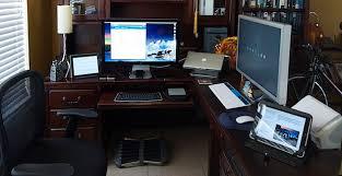 Programmer Desk Setup Mac Setups Ios Developers Home Office
