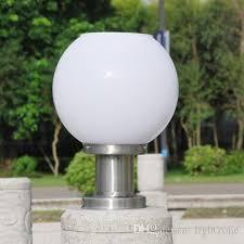 Outdoor Globe Light Solar Power Led Garden Globe Light Stigma L Spherical Circular