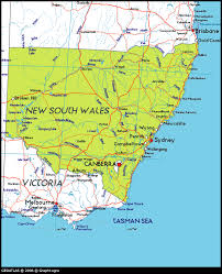 map of new south wales map of new south wales australia tourizm maps of the world