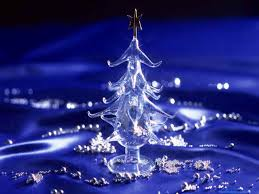 modern decorations for home purple and silver christmas tree