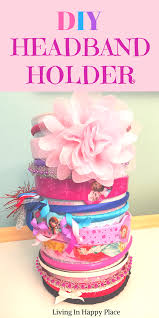 how to make a headband holder headband holder easy diy headband holder and hair tie organizer