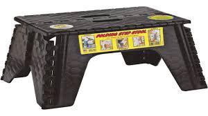 b r plastics 103 6bk e z foldz black 12 step stool youtube