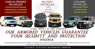 used lexus jeep in nigeria armoured vehicles nigeria bulletproof cars nigeria cash in transit