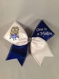 minion ribbon one in a minion bow