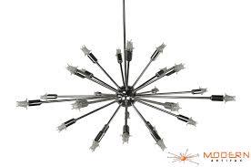 Vintage Sputnik Light Fixture L Pc Sputnik L Chrome Chandelier With Arms And Diameter