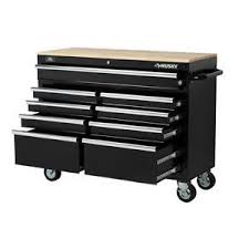 Rolling Work Benches Mobile Rolling Workbench Home Garage Tool Storage Cabinet 9