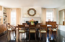 The Dinning Room A Classic Westchester Cottage Goes Glam Home Tour Lonny