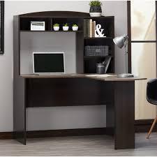 Computer Desk With Hutch Andover Mills Marlton L Shape Computer Desk With Hutch U0026 Reviews