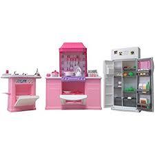 kitchen set furniture amazon com size dollhouse furniture kitchen set toys