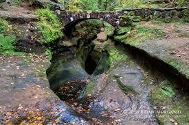 The Devils Bathtub Hocking Hills Western Ohio