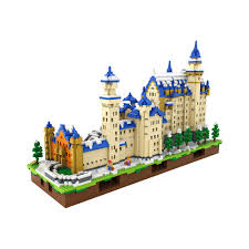 aliexpress com buy loz blocks new swan stone castle architecture