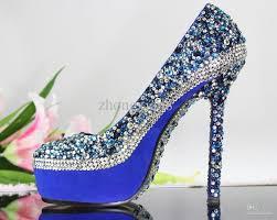 wedding shoes royal blue blue high heels wedding shoes milanino info