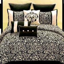 Black And Gold Crib Bedding Bedding Unforgettable Blackite Gold Bedding Pictures Design