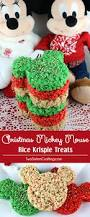 christmas mickey mouse rice krispie treats rice krispie treats