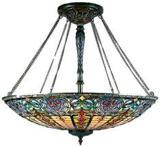 Glass Ceiling Light Covers Stained Glass Flush Mount Ceiling Light U2013 Justgenesandtease