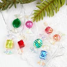 candy ornaments miniature wrapped candy ornaments christmas ornaments
