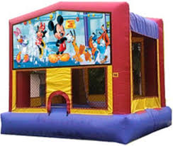 mickey mouse clubhouse bounce house mickey mouse themed bounce house rentals in connecticut