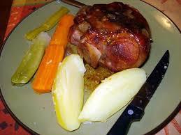 comment cuisiner un jarret de porc recette de jarret de porc avec légumes