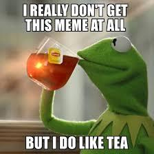 Tea Bag Meme - removing the tea bag was not enough we must resist corporate