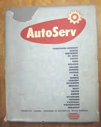 vintage auto service 1957 repair manual book austin chev holden vw